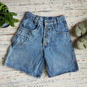 High Rise Vintage Cristina Jean Shorts